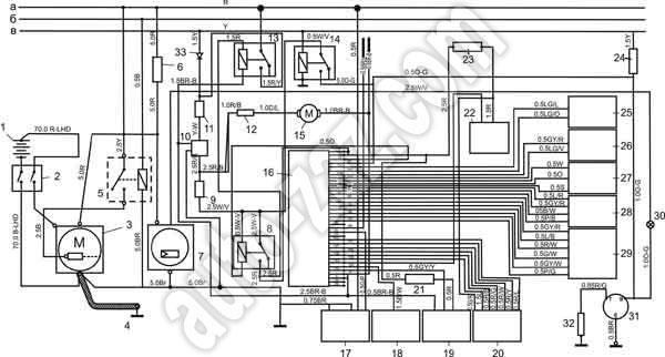 Схема запуска Tata 613