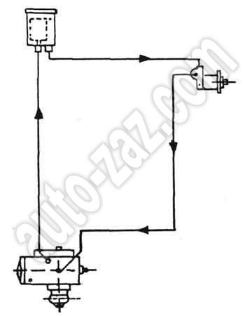 Схема привода усилителя